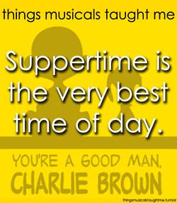 Things musicals taught me: You're A Good Man, Charlie Brown
