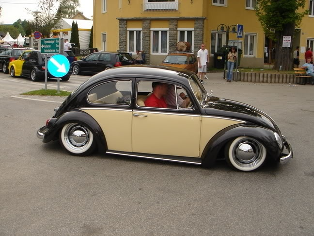 Rainbow vw beetle