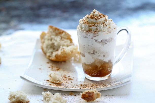 Coffee Granita w/ Whipped Cream | 2 Peas & A Pot Catering