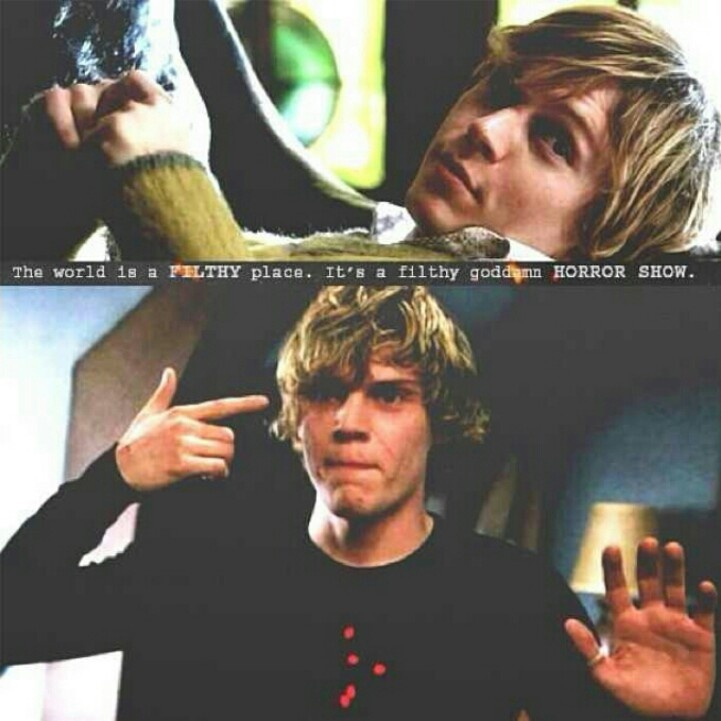 American horror story season 1 tate quotes images amp pictures becuo