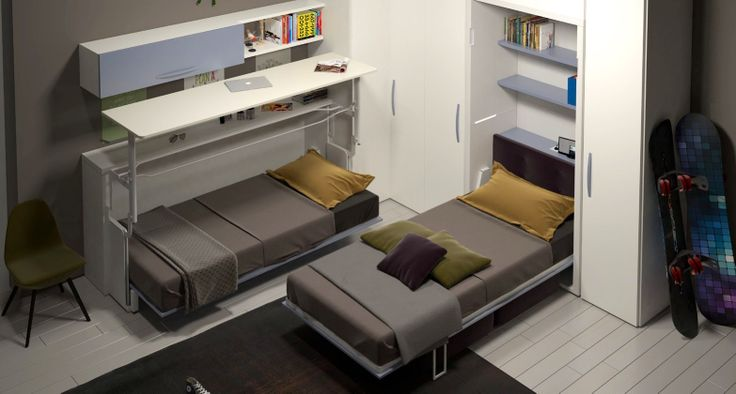 Pin by di malacca on small space pinterest - Space saving solutions for small bedrooms model ...
