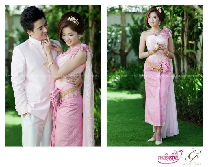Khmer wedding dress wedding ideas pinterest for Khmer dress for wedding party