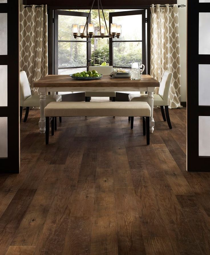 Cottage Kitchen Flooring Continued: Mannington Adura LVT Dockside Pier