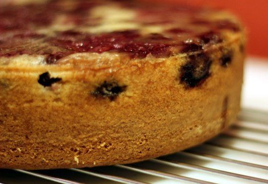 Almond Buttermilk Cake With Cherries | Recipe