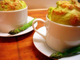 Asparagus souffle - looks delicious - I need to make this!