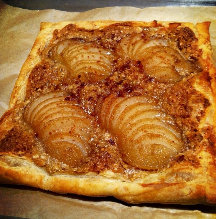 Pear & Almond Frangipane Tartelettes Recipe — Dishmaps