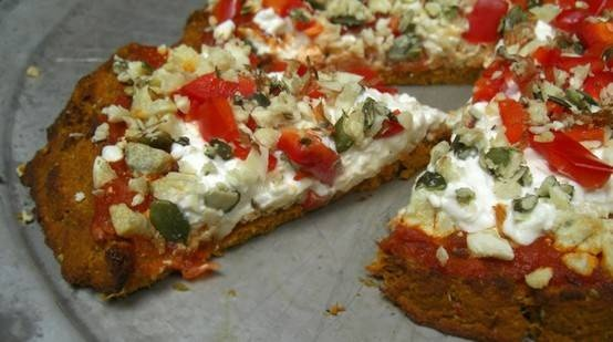 carrot pizza crust | Things I will never really make | Pinterest