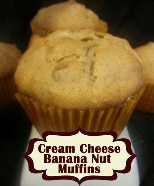 Amazing Cream Cheese Banana Nut Muffin Recipe! Must Try! - http ...