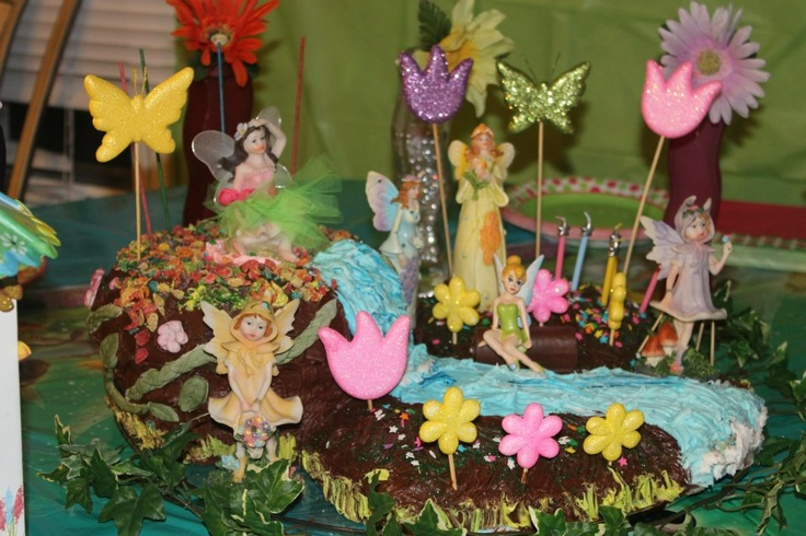 Fairy Garden Cake Ideas Photograph Fairy Garden Cake Cak