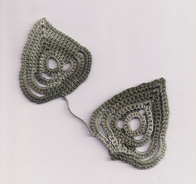 Crochet Leaf Pattern : crochet leaf pattern Beautiful Crocheting and Knitting ! Pinterest