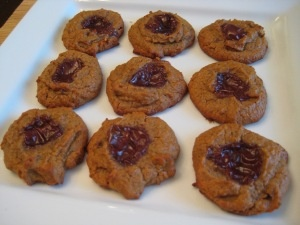 Peanut Butter & Jelly Cookies | Desserts-Low Carb | Pinterest