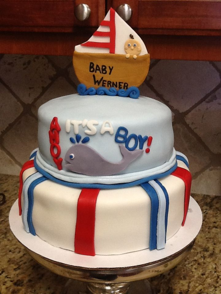 baby shower cakes nautical baby shower cake sayings