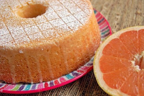 Glazed Grapefruit Pound Cake...future weekend project once I buy a ...