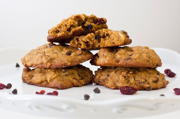 almond cookies with cranberries white chocolate pumpkin oatmeal ...