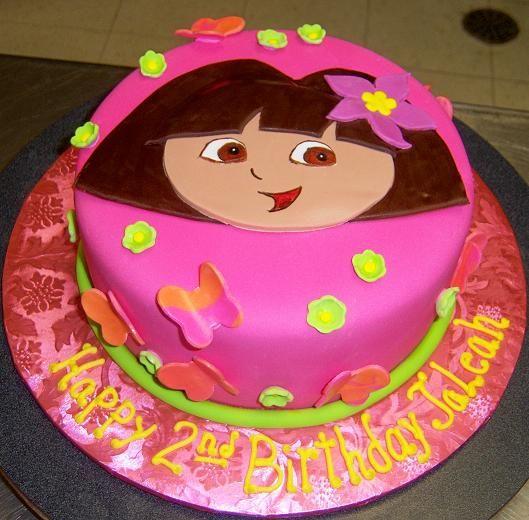 Cake Design Dora L Exploratrice : dora crown cake - Google zoeken taarten Pinterest
