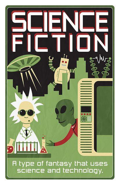 science fiction genre poster