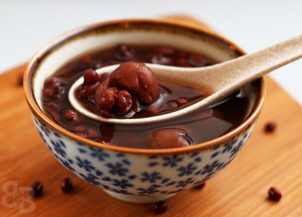 Chinese dessert - red bean soup | Chinese Dietary Wisdom | Pinterest