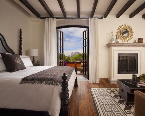 Bedroom in San Miguel de Allende Mexico.