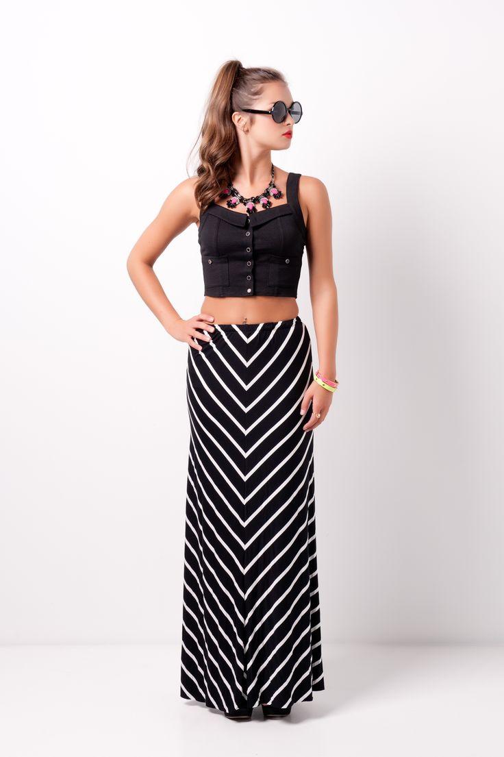 crop top maxi skirt swoonboutique clothes so