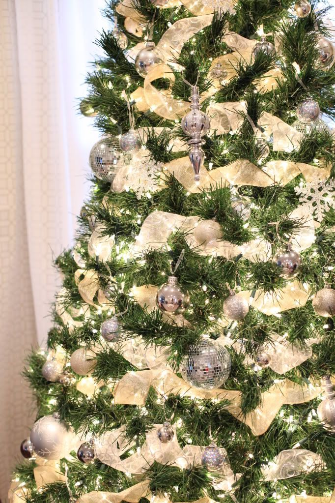 ribbon around the christmas tree tis 39 the season pinterest