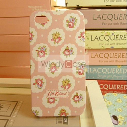 18.50-Cath Kidston iPhone 4 case provence rose - pink