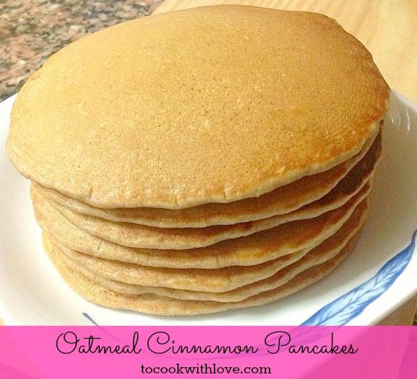 Cinnamon Pancakes - I used applesauce instead of oil and Silk coconut ...