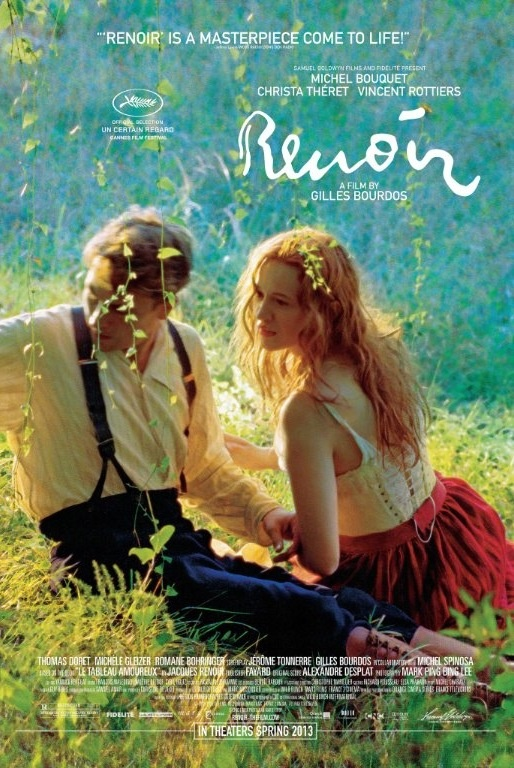 "the French movie ""Renoir"" a visual feast that reaches deep into your heart."