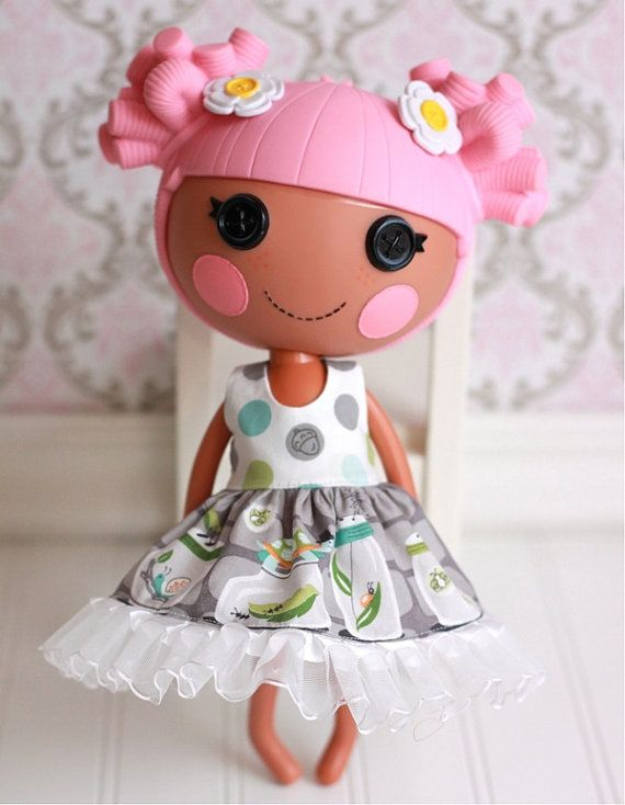 Новое платье для Lalaloopsy