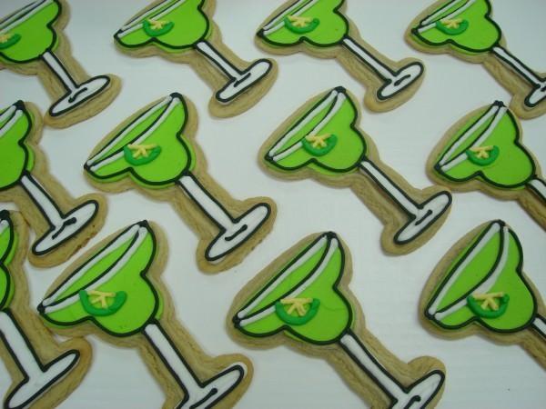 Margarita cookie | Decorated Cookies | Pinterest