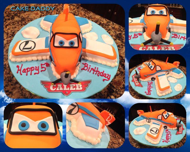 Disney Planes Dusty Cake