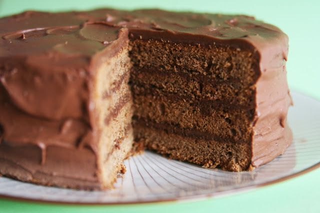 Mocha Layer Cake and Coffee Frosting | Cakes | Pinterest