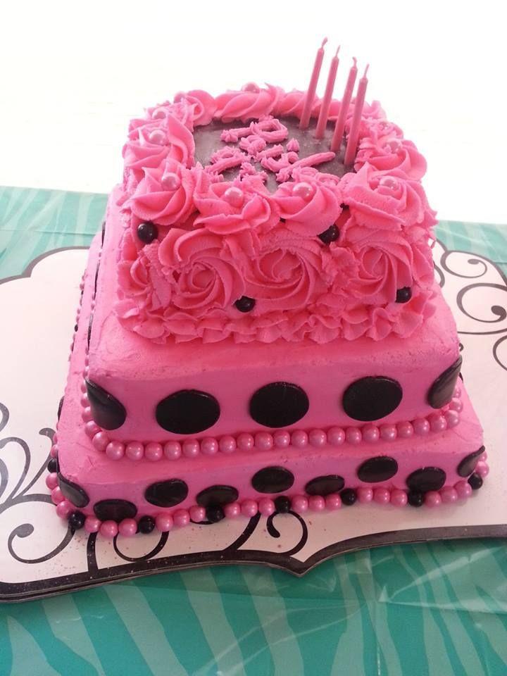 Little Girls Birthday Cake  cakes  Pinterest