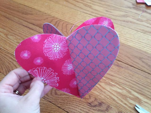 valentine hearts cut out