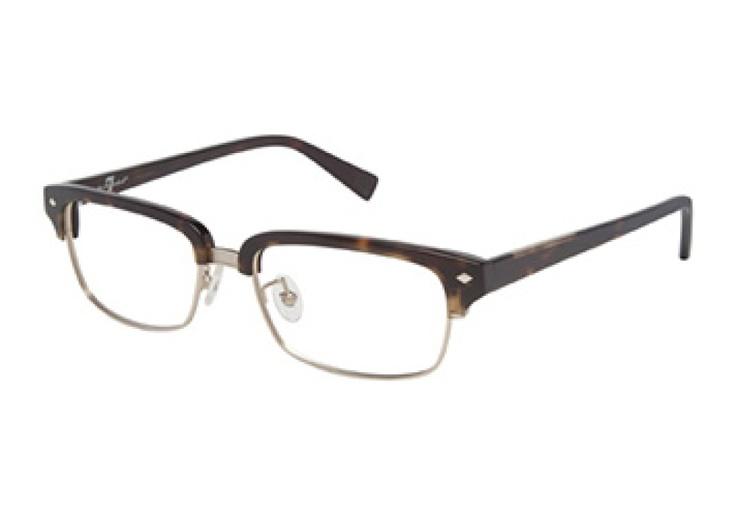 Glasses Frames For Rectangular Face : 7 for All Mankind 724 glasses. Not as harsh as black ...