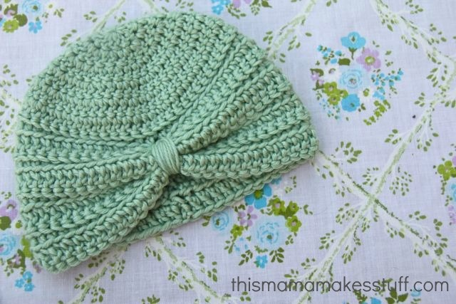 Free Crochet Pattern Baby Turban : Crochet Baby Turban & Pattern Knitting for Baby Girl ...