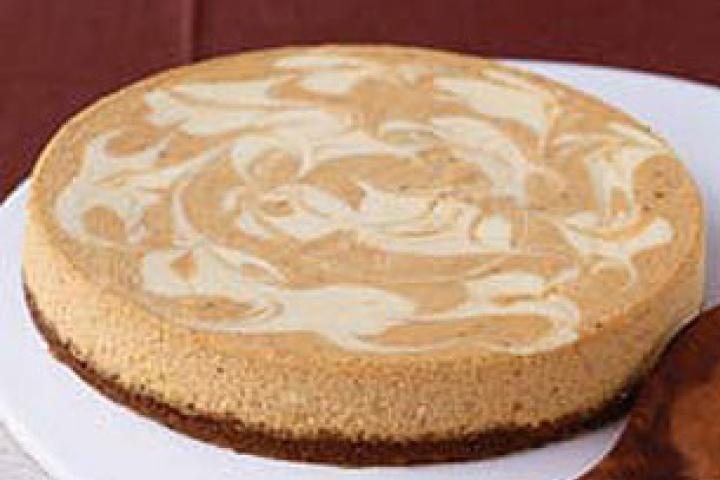 Pumpkin Cheese Swirl Pie | CHEESECAKES | Pinterest