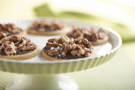 Salty Sweet: Toffee Cookies with Dark Chocolate Glaze Cookbook Recipe