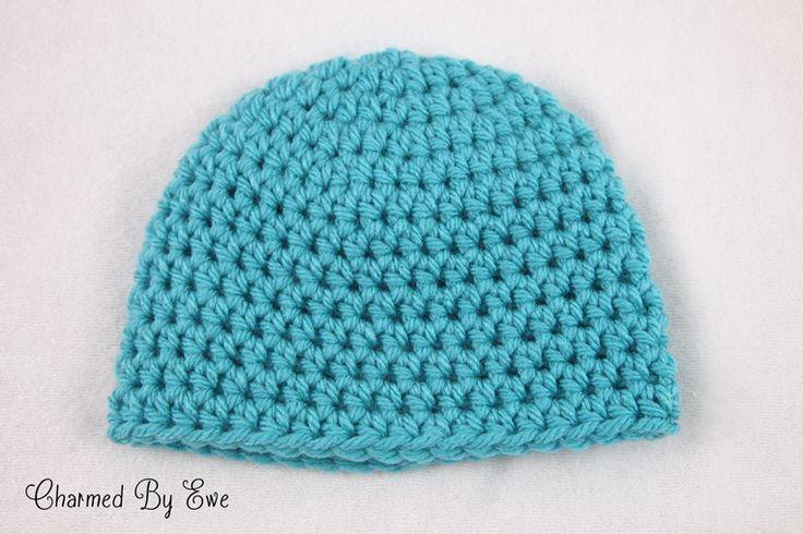 Crochet Beanie Pattern Basic : Free Crochet Pattern: Basic Bulky Beanie Crochet ...
