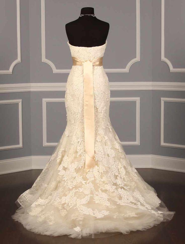 vera wang luxe hilary discount designer wedding dress
