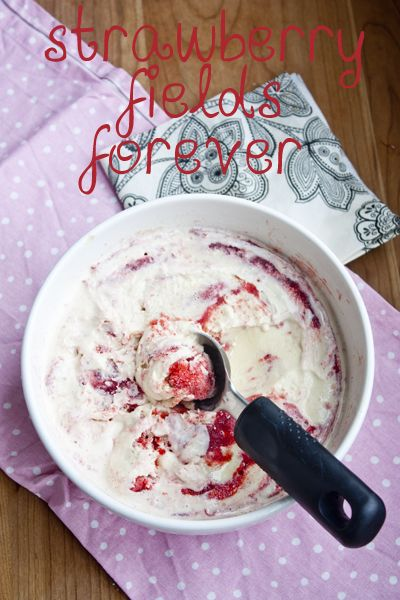 ... Blumethal's Vanilla & Cinnamon Ice Cream with Spiced Strawberry S...