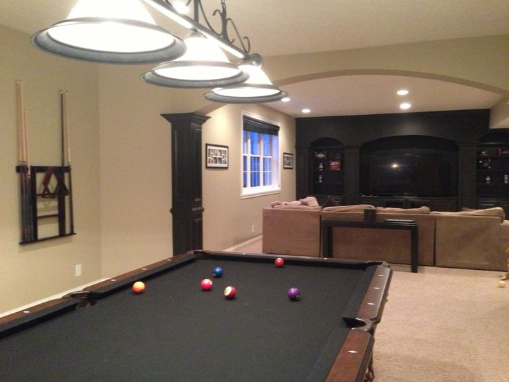 amazing basement set up next time we build a house pinterest