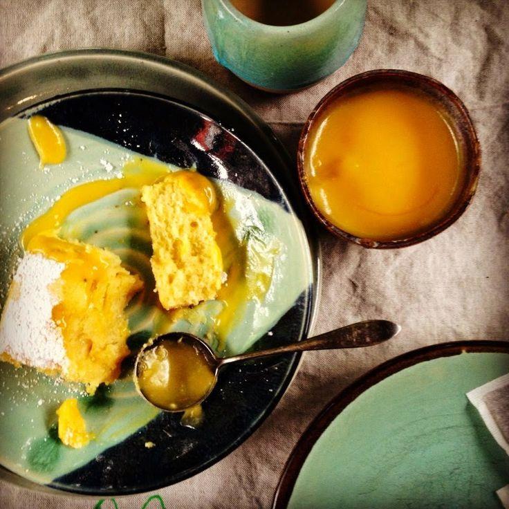 passionfruit curd cake | Om Nom Sweets | Pinterest