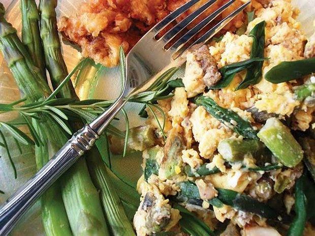 ... Asparagus, Ramp Scramble and Fried Morels. - BlueRidgeCountry.com