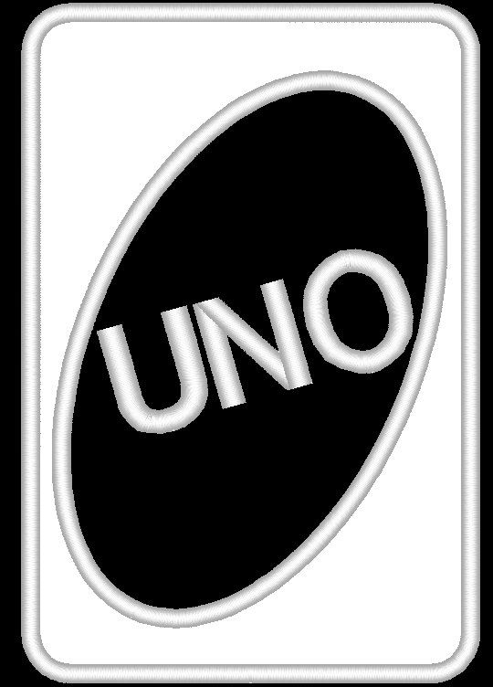 UNO Card Applique Machine Embroidery Design 3 by EmbellishStar   3 00Uno Cards Template