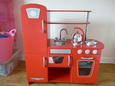 28 Elc Red Wooden Kitchen Elc Red Retro Kitchen Dimensions