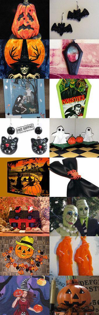 100 days till Halloween! HAB by TwilightFaerie on Etsy--Pinned with TreasuryPin.com #halloween #creepy #spooky #halloweenartistbazaar