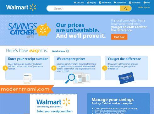 Walmart s savings catcher work how to use savings catcher at walmart