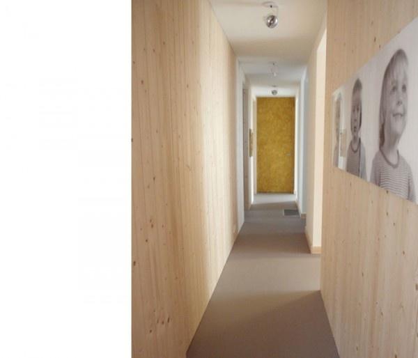 Home of Christien Starkenburg  Houten wand  Pinterest