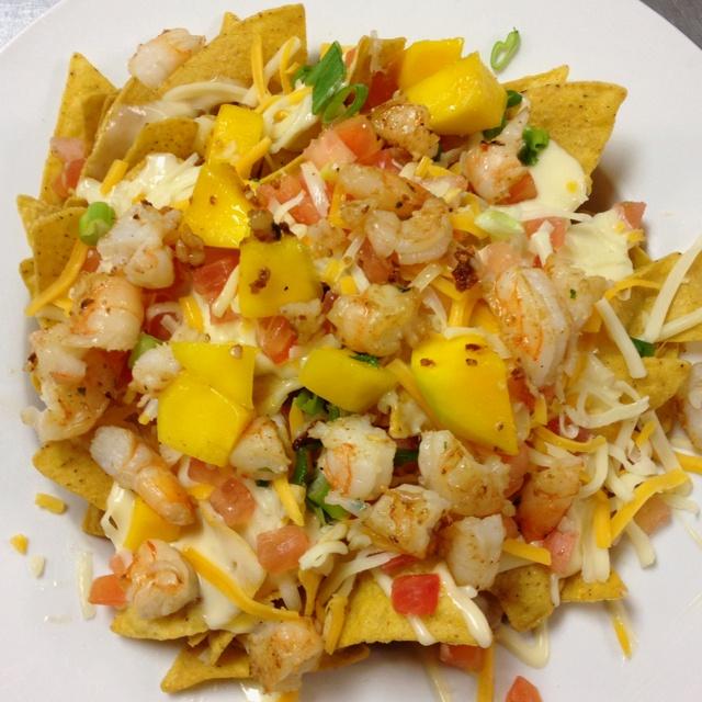 Spicy Shrimp Nachos | Yummies | Pinterest