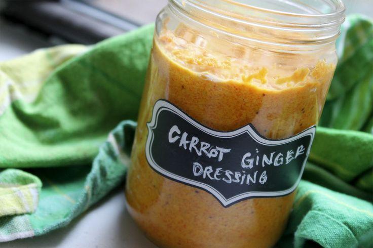 Carrot Ginger Dressing | Veggie Recipes | Pinterest